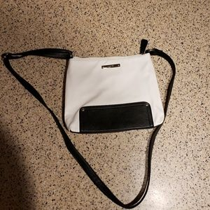 Nine West faux Pebbled leather crossbody purse